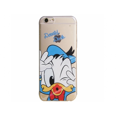 i12Cover Apple Iphone 7 softcase hoesje met Donald Duck
