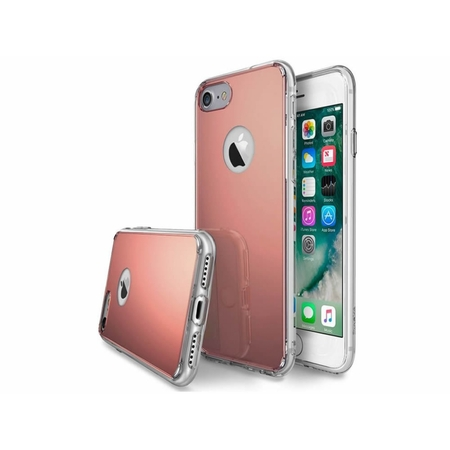 i12Cover Apple Iphone 7 Plus Silicone case with rear mirror