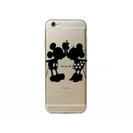 I12COVER Apple Iphone 5s softcase hoesje met Mickey & Minnie Mouse