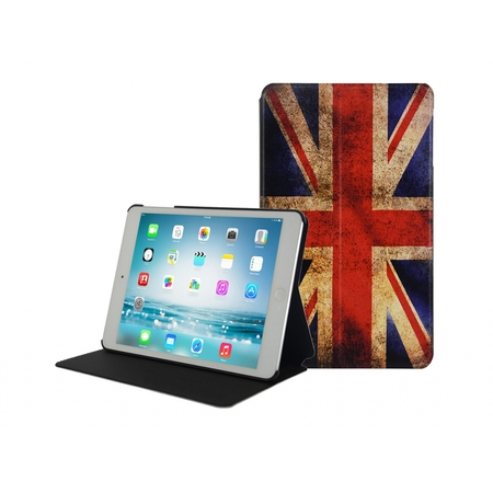 I12COVER Ipad Mini Retina UK Book Case with vintage English flag