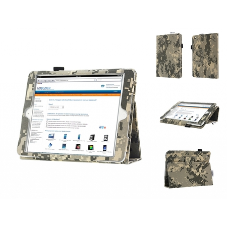 I12COVER Slim Case with Camouflage print for Ipad Mini Retina