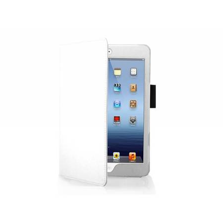 i12Cover blanc custom made Ipad Mini Stand Case