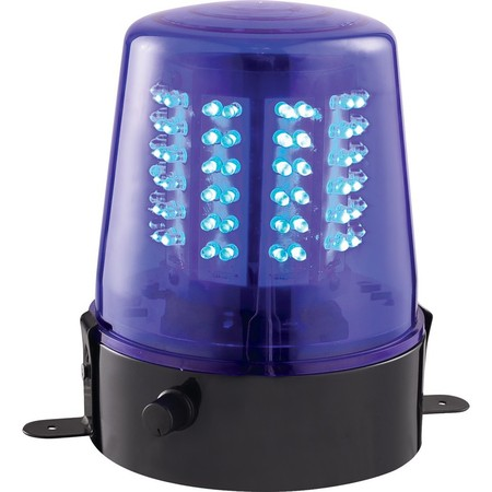 IBIZA GYROPHARE XL A LED BLEU (JDL010B-LED)
