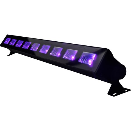 IBIZA BARRE A LED UV 9 x 3W (LED-UVBAR)