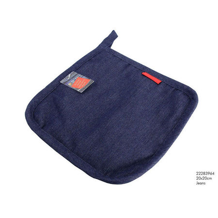 IMPERIAL KITCH Pannenlap 20x20 Cm Jeans