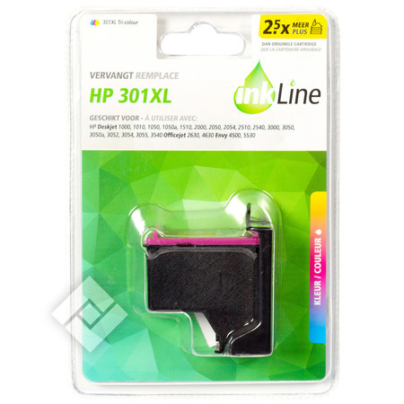 INKLINE HP 301XL COLOR