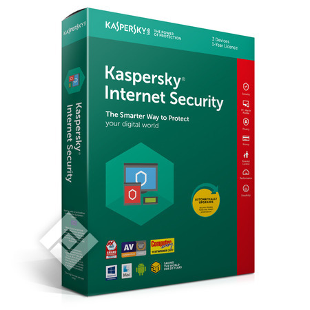 KASPERSKY NTERNET SECURITY 2019 BLX 3U 1Y