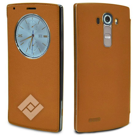 LG G4 LEATHER QUICKCIRCLE BR