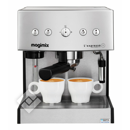 MAGIMIX Machine à expresso 11414/CHROME MAT