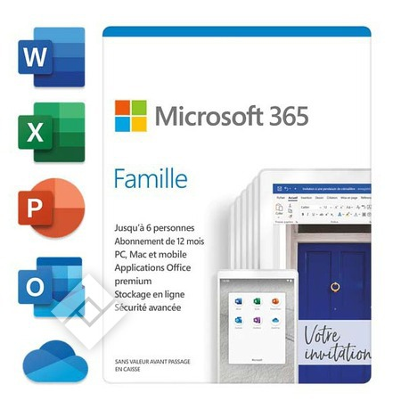 MICROSOFT 365 FAMILY 15 MONTHS FR