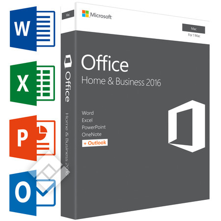 MICROSOFT OFFICE FOR MAC HOME&BUSINESS 2016 EN