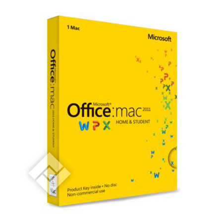 MICROSOFT OFFICE.MAC HOME&STUDENT 2011 NL