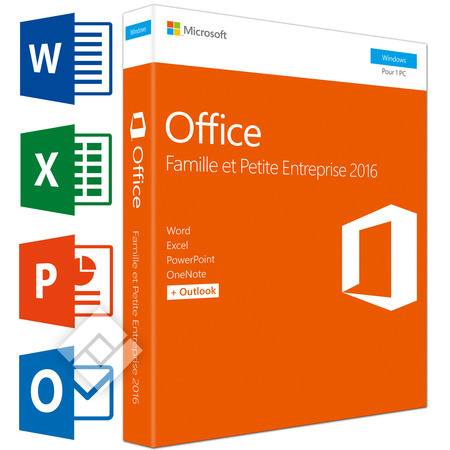 MICROSOFT OFFICE HOME & BUSINESS 2016 FR