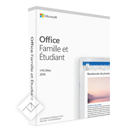 MICROSOFT OFFICE HOME & STUDENT 2019 FR