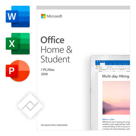 MICROSOFT OFFICE HOME & STUDENT 2019 EN