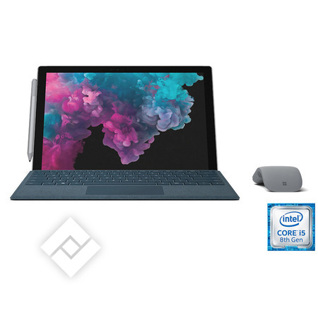 MICROSOFT laptop, tablet pc of 2-in-1 / hybride SURFACE PRO 6 I5 128GB