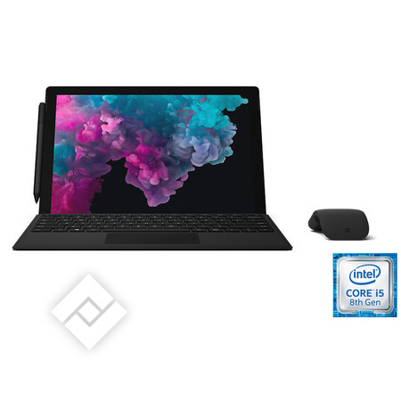 MICROSOFT SURFACE PRO 6 I5 256GB BLACK