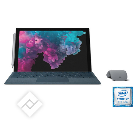 MICROSOFT laptop, tablet pc of 2-in-1 / hybride SURFACE PRO 6 I7 512GB