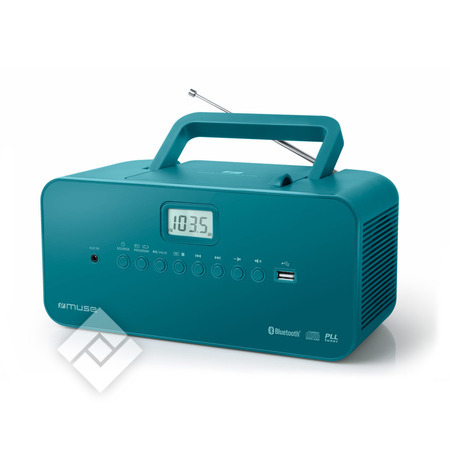 MUSE Radio CD portable M-30BTB