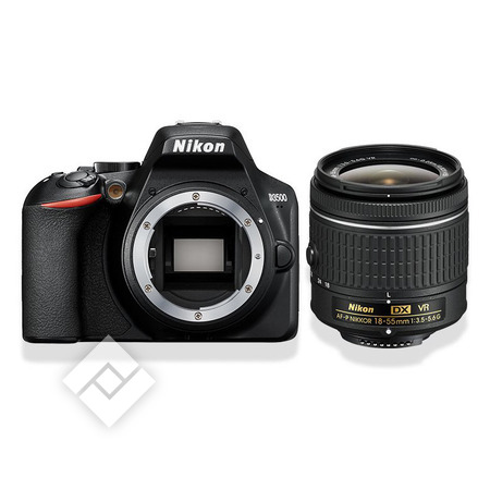 NIKON Appareil photo reflex D3500 + AF-P 18-55VR KIT