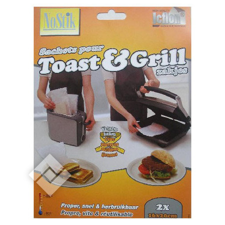 NOSTIK TOAST & GRILL BAGS X2