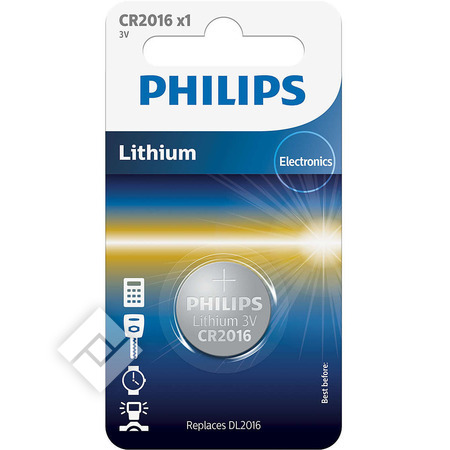 PHILIPS CR2016 X1