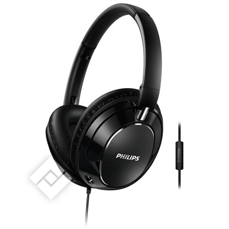 PHILIPS FX5M HEAVY BASS BLACK