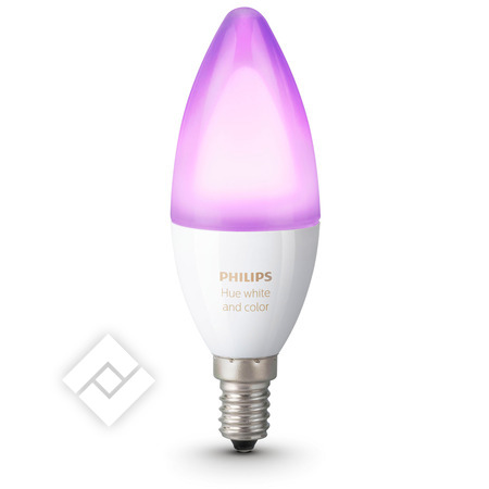 PHILIPS HUE WHITE AND COLOR AMBIANCE CANDLE E14