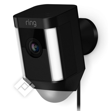 RING SPOTLIGHT WIRCAM BLACK