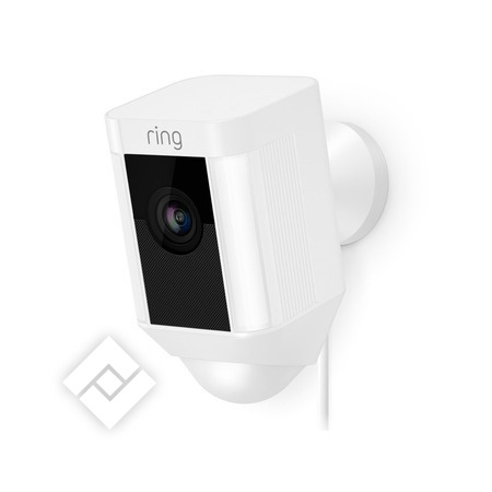 RING SPOTLIGHT WIRCAM WHITE