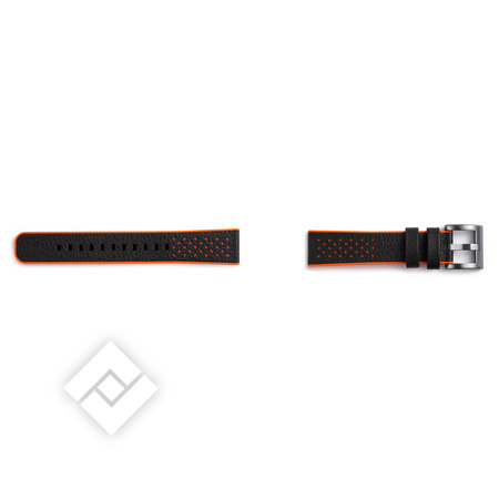 SAMSUNG BRACELET HYBRID BLACK/ORANGE GEAR SPORT