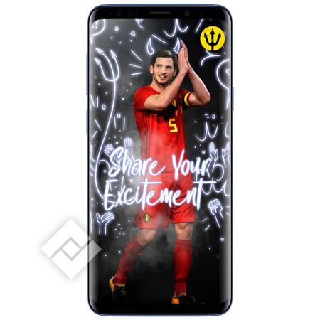 SAMSUNG GALAXY S9 PLUS BLUE+ RED DEVILS SMART COVER