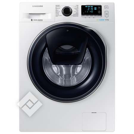 SAMSUNG Wasmachine WW 81K 6404 QW AddWash