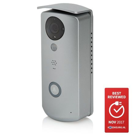 SECUFIRST Wi-Fi deurbel met camera (DID501)