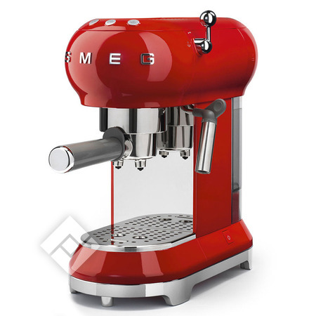 SMEG Espressomachine ECF01RDEU RED