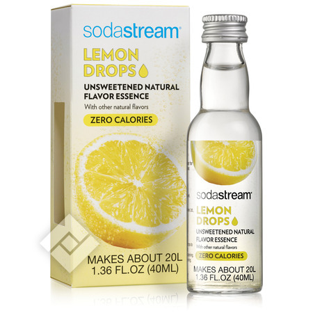 SODASTREAM FRUIT DROPS LEMON 40ml