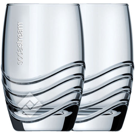 SODASTREAM Glasses X4 Crystal