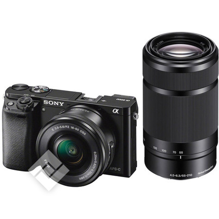 SONY ALPHA 6000 + 16-50MM + 55-210MM PACK (A6000)