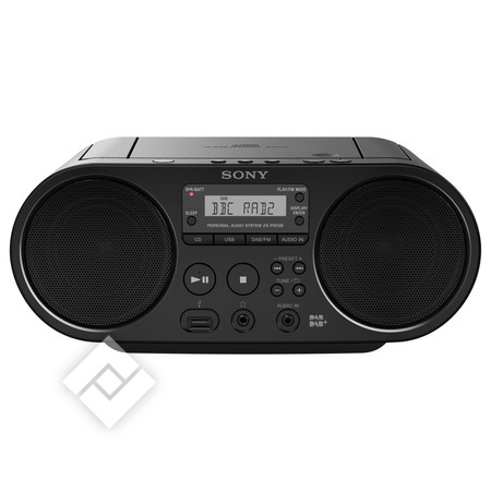 SONY ZS-PS55B BOOMBOX CD