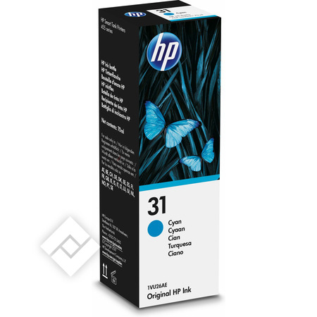 HP 31 CYAN ORIGINAL INK