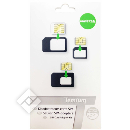 TEMIUM SIMCARD ADAPTER