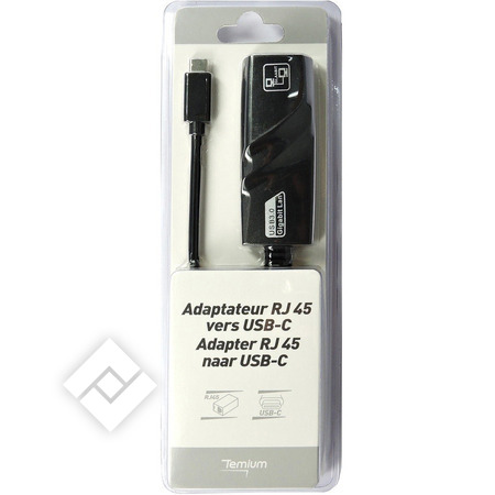 TEMIUM USB-C TO RJ45 ADAPTER