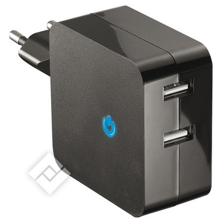TEMIUM WALL CHARGER 2.1A X2 USB