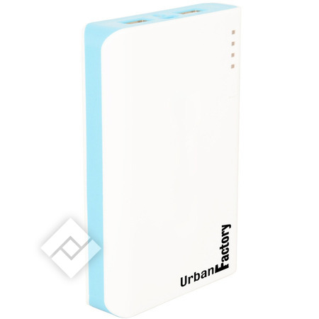 URBAN FACTORY POWERBANK SOL 8 WHITE