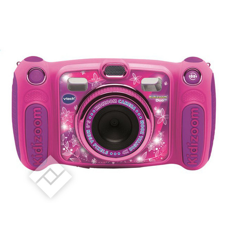 Vtech Appareil photo KIDIZOOM DUO 5.0 PINK FR