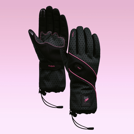 VULPES Vulpés Moontouch - Intelligent Heated Handgloves in Fuxia (L)