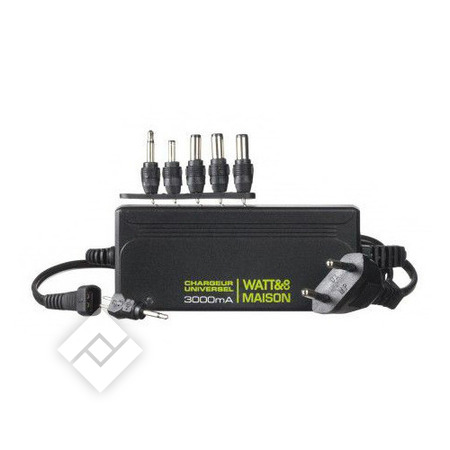 WATT&CO CHARGER UNIVERSEL 3000MA