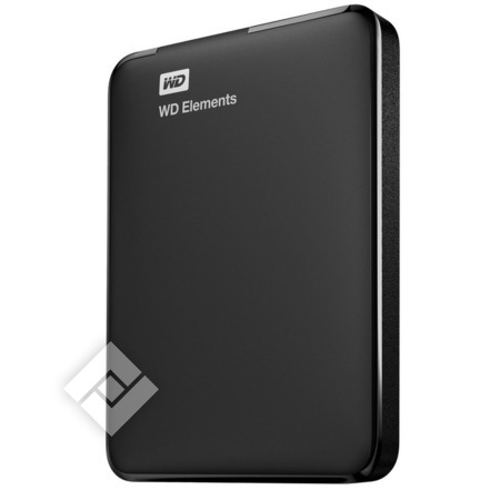 WESTERN DIGITAL Externe harde schijf of SSD ELEMENTS 1TB BLACK