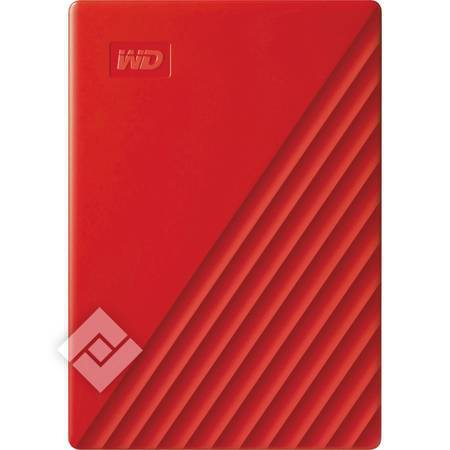 WESTERN DIGITAL MYPASSPORT NEW 2TB RED