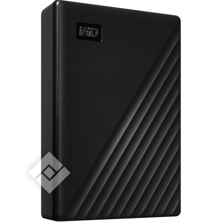 WESTERN DIGITAL MYPASSPORT NEW 4TB BLACK